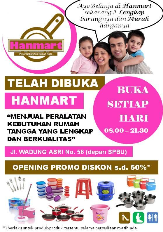 Design Flyer Opening Hanmart
